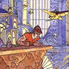 GEOF DARROW Recalls the 'Poetic' MOEBIUS