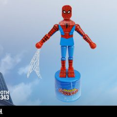 THWIP! Loose-Limbed SPIDER-MAN Push Puppet Brings Retro Fun