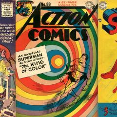 13 SUPERMAN COVERS: A WAYNE BORING Birthday Celebration