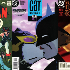 13 COVERS: BATMAN and CATWOMAN Sittin' in a Tree…