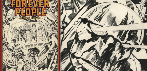13 GREAT PAGES From the JACK KIRBY FOREVER PEOPLE Artist's Edition
