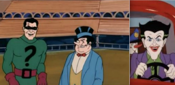 BATCAVE PODCAST: A Fine Time With FILMATION Riddler, Penguin and Joker