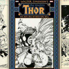 13 BRILLIANT PAGES From SIMONSON's RETURN OF BETA RAY BILL Artist's Edition