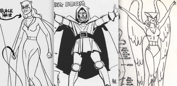 13 Great ALEX TOTH Model Sheets: A Birthday Celebration
