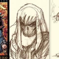 EXCLUSIVE LOOK: Walt Simonson's RAGNAROK Sketchwork