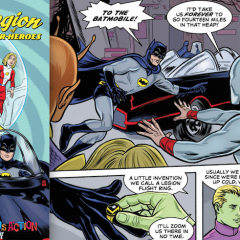 EXCLUSIVE Preview: BATMAN '66 MEETS THE LEGION OF SUPER-HEROES #1
