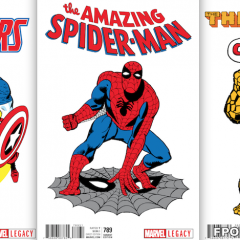 The Coolest Thing MARVEL Has Done This Year: '60s T-SHIRT VARIANTS