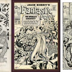 13 FANTASTIC PAGES: Inside KIRBY's FANTASTIC FOUR Artist's Edition