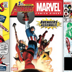 EXCLUSIVE Preview — MARVEL COMICS DIGEST #2: THE AVENGERS