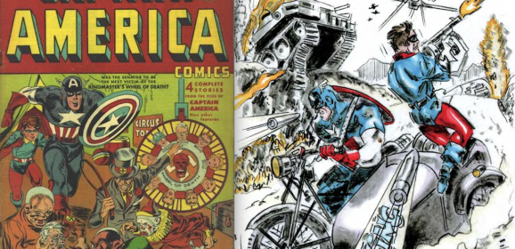 KIRBY 100: CAPTAIN AMERICA and the KING