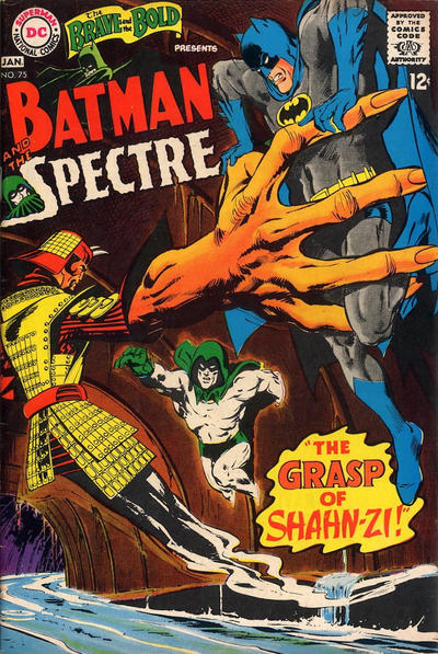 Brave and Bold #75. Adams' first B&B cover. That's a sea change right there.