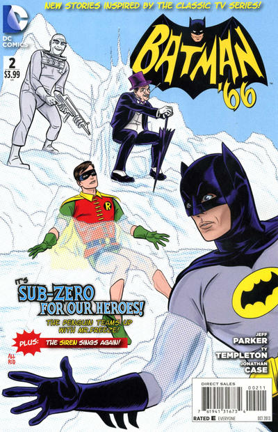Allred's #2 cover. Why in the world did the Penguin and Mr. Freeze ever team up before?