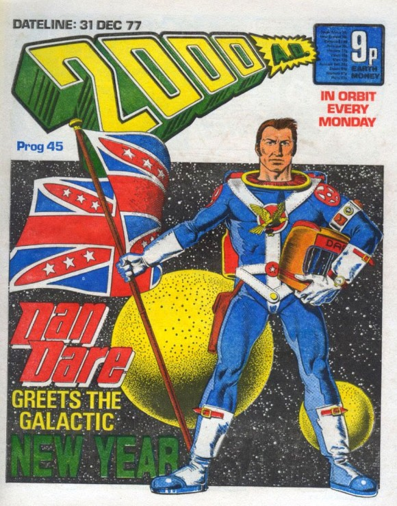 2000AD from 1977