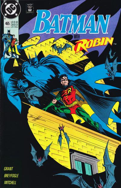 Batman #465, 1991. Classic Breyfogle.