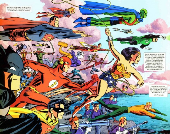 Some of Dan's fave Stewart work: The New Frontier from DC (and Darwyn Cooke, natch