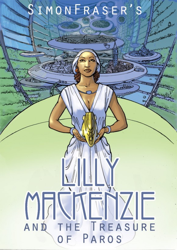 Lilly Mackenzie and the Treasure of Paros