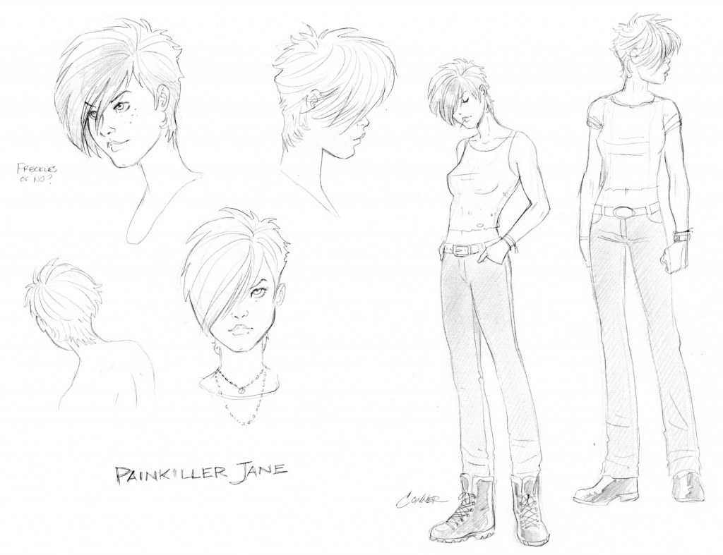 PainkillerJane CharacterSketch