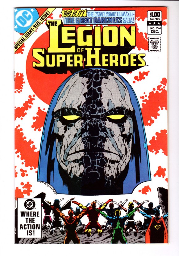Legion of Super-Heroes #294