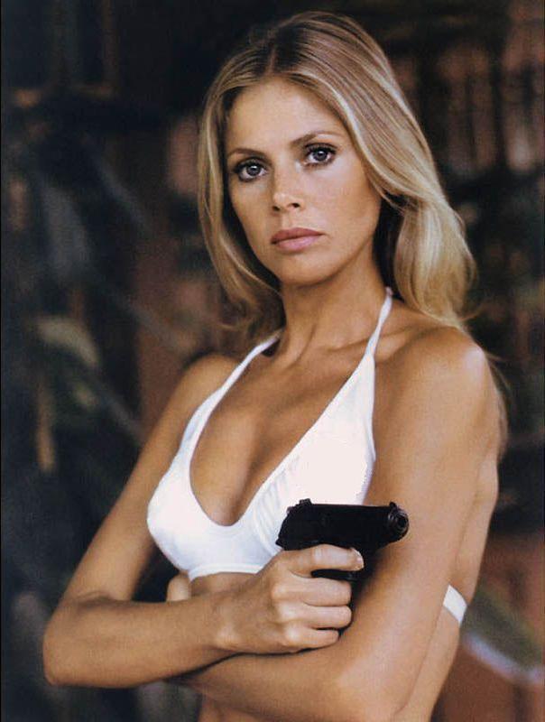 Britt Ekland, still one of the best Bond Girls.
