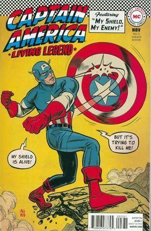 Mike Allred, Captain America: Living Legend #3