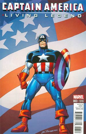 Sal Buscema, Captain America: Living Legend #3