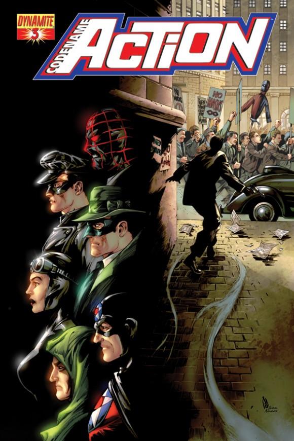 Cover by series penciler Jonathan Lau!