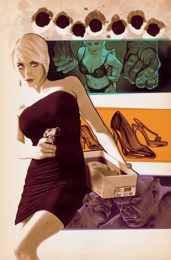 Fairest #22. Art by Adam Hughes, as if you couldn't tell.