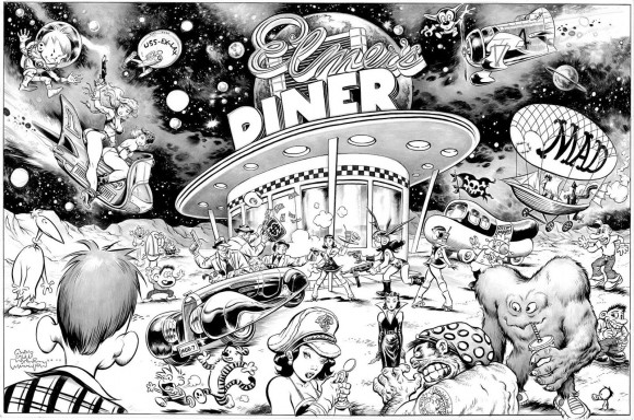 The diner from the mind (and pen) of Steve Mannion.