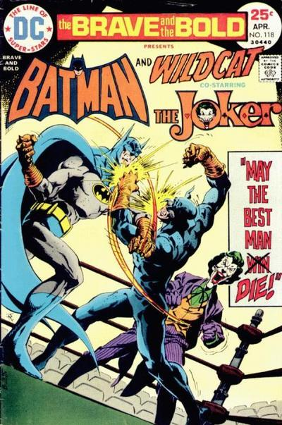 Y'know, really, all one of them has to do is turn and punch out the Joker...