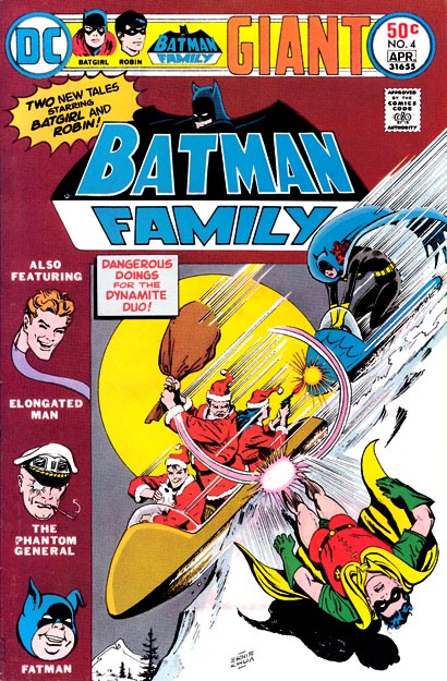 I loved Batman Family. Loved it.