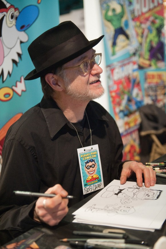 Bob Camp at Asbury Park Comicon 2013. Photo © Robert McKay