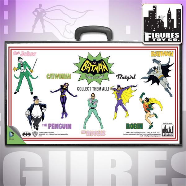 I will probably buy this one. The design is based on the original Mego case.