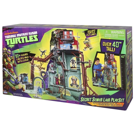 Teenage Mutant Teenage Turtles Playset