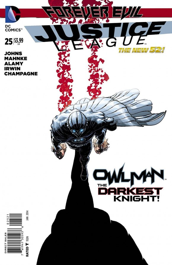 Hey, DC's here! Aaron Kuder rocks. And I love Owlman. So there you go.