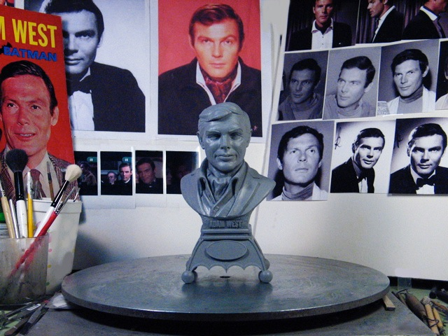 Adam West Bust_Studio pic