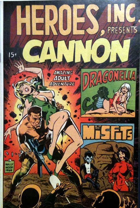 Front cover by Wally Wood.