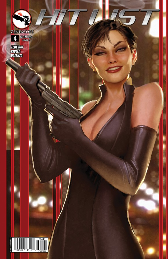 Zenescope makes the grade! But really it's because she looks like Selina Kyle. Stjepan Sejic.