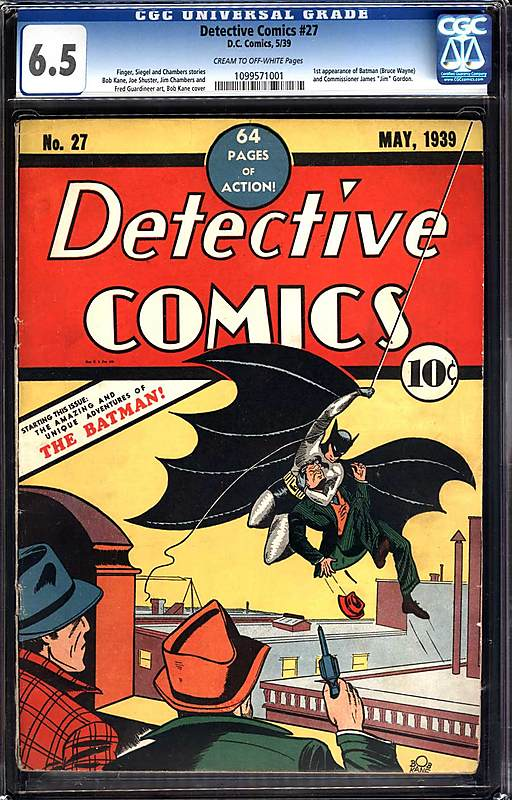 "The ""Bob Kane variant cover"" you could buy from Metropolis Comics if you had $760,000 lying around."