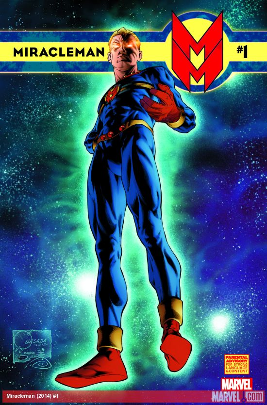 MIRACLEMAN #1 (2014), art by Joe Quesada