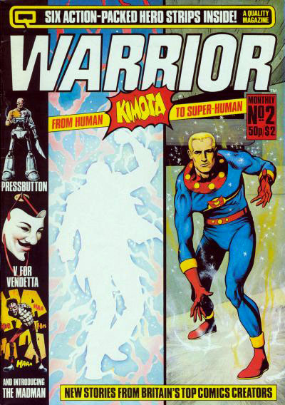 WARRIOR #2 (1982), art by Gary Leach