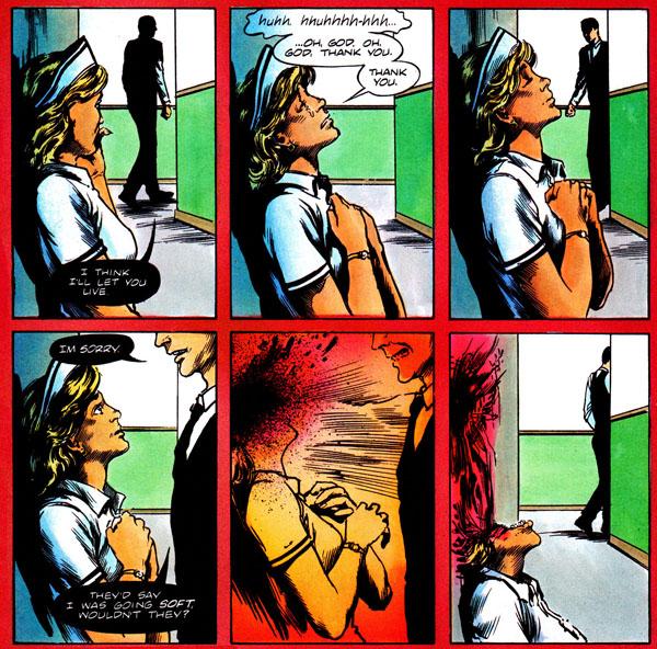 MIRACLEMAN #14 (1988), script by Alan Moore, art by John Totleben