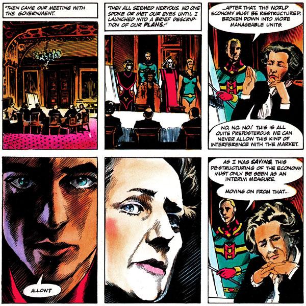 MIRACLEMAN #16 (1989), script by Alan Moore, art by John Totleben