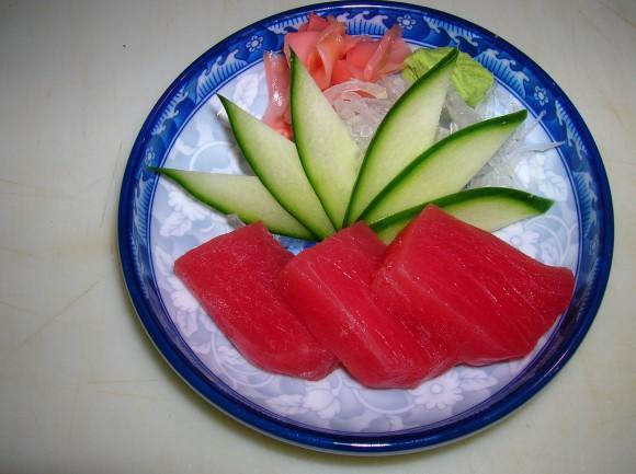 01. Tuna Sashimi