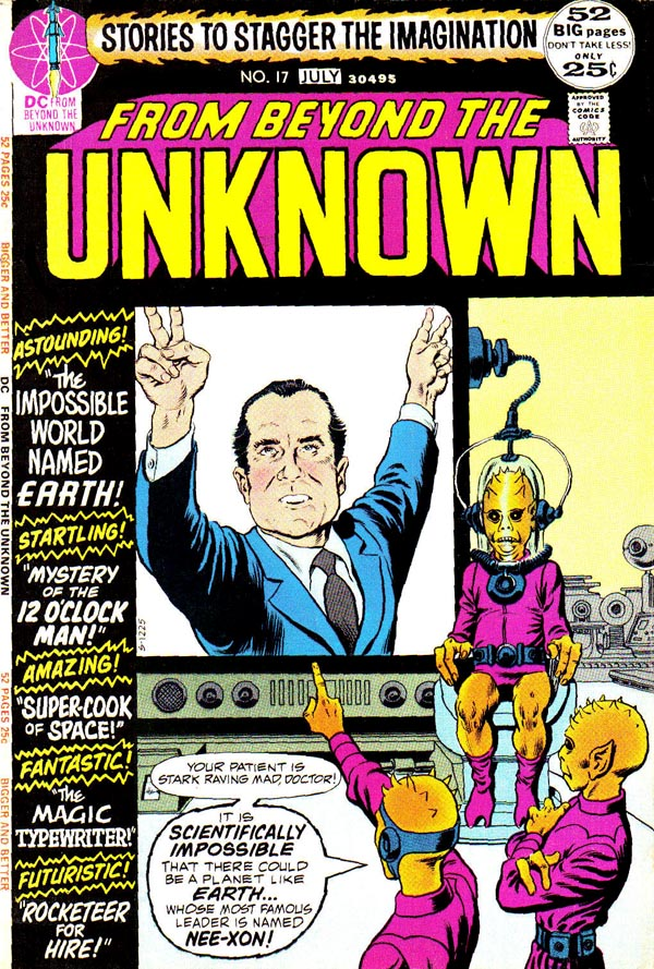 Beyond the Unknown #17 (DC, 1972), art by Murphy Anderson