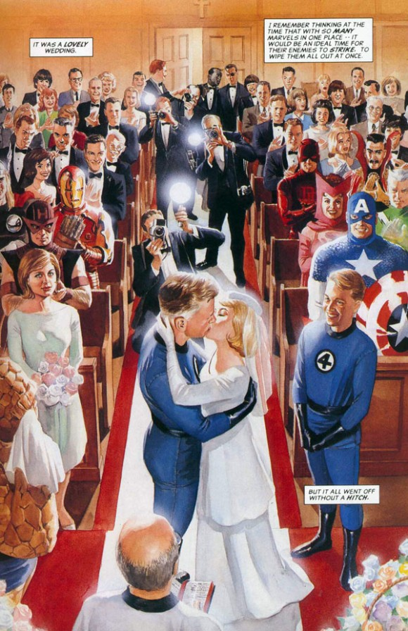 Marvels #2 (1994), script by Kurt Busiek, art by Alex Ross