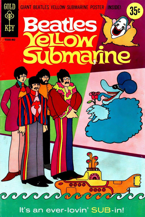 Yellow Submarine one-shot (Gold Key, 1968)
