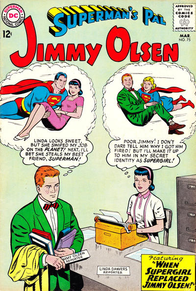 Superman's Pal Jimmy Olsen #75 by Jerry Siegel (w) Curt Swan, George Klein (c/a)