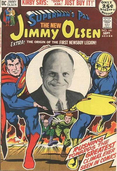 Kirby inked by Adams, with Don Rickles. Let that one sink in.