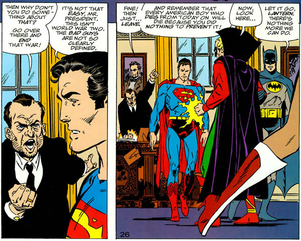 Superman & Batman: Generations #2 (DC, 1999), script and art by John Byrne