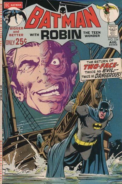 Batman #234, an O'Neil/Adams classic.